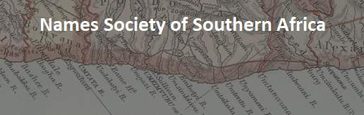 Names Society of Southern Africa